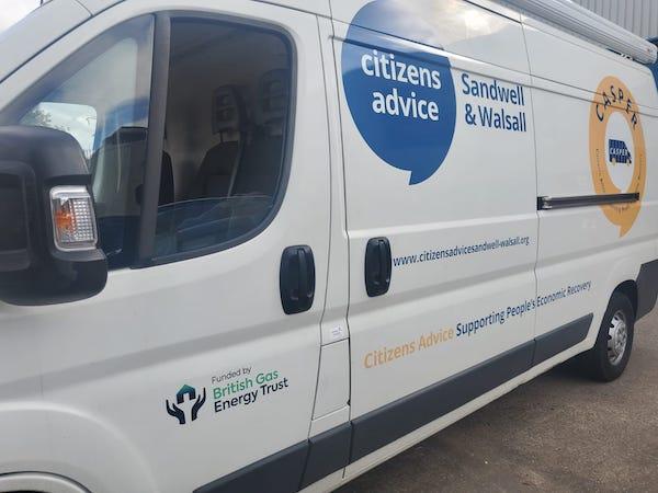 CASPER mobile advice unit